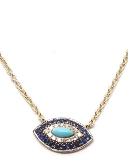 Necklace with Turquoise Stone