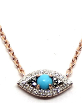 Necklace With Turquoise Eye